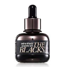 Banila Co. The Blacks Extra Black Sesame Oil 30ml korean cosmetic skincare shop malaysia singapore indonesia