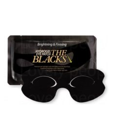 Banila Co. The Blacks Hydrogel Eye Patch [Brightning & Firming] 10g korean cosmetic skincare product online shop malaysia indonesia singapore