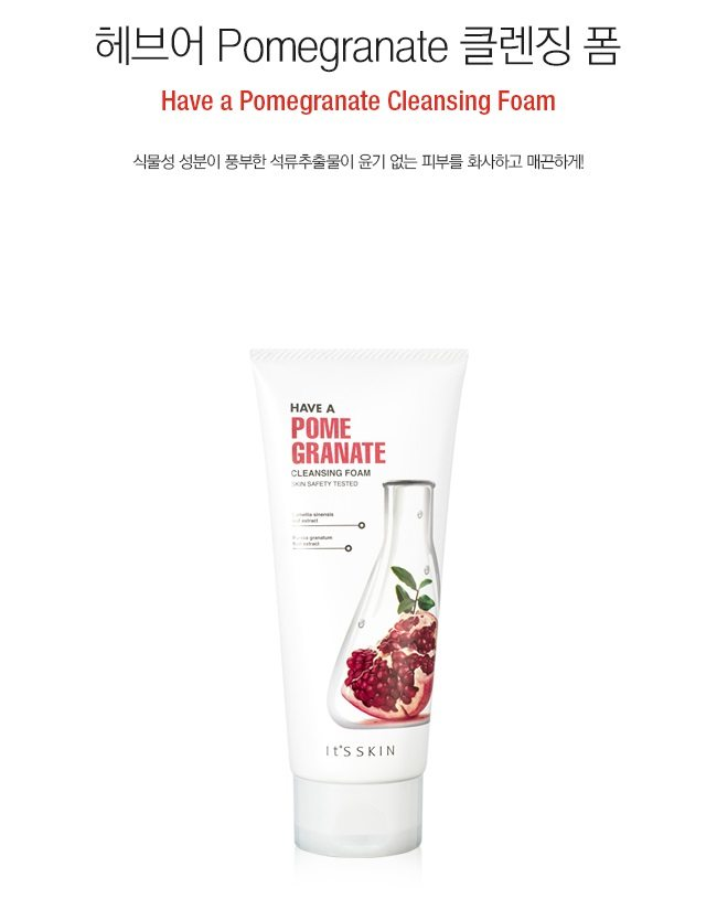 It's Skin Have A Pomegranate Cleansing Foam 150ml PRICE MALAYSIA SINGAPORE AUSTRALIA CANADA PHILIPPINE INDONESIA TAIWAN1