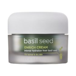 It's Skin Basil Seed Enrich Cream 50ml korean cosmetic skincare shop malaysia singapore indonesia