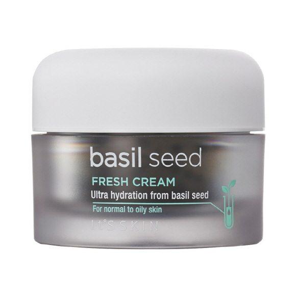 It's Skin Basil Seed Fresh Cream 50ml korean cosmetic skincare shop malaysia singapore indonesia