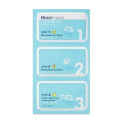 It's Skin Black Head Clear 3-Step Solution Sheet 40ml korean cosmetic skincare shop malaysia singapore indonesia