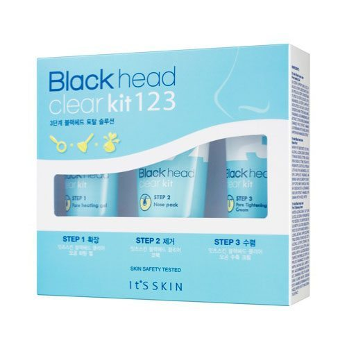 It's Skin Black Head Clear Kit 123 korean cosmetic skincare shop malaysia singapore indonesia