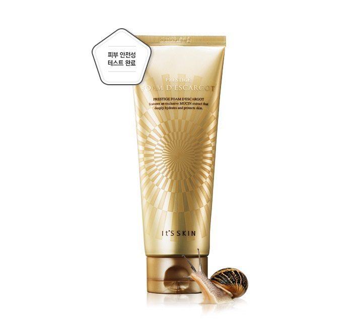 It's Skin PRESTIGE Foam d'escargot 150ml [Snail Cleansing Foam]1