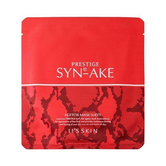 It's Skin PRESTIGE SYN-AKE Agetox Mask Sheet 5pcs set 125ml korean cosmetic skincare shop malaysia singapore indonesia