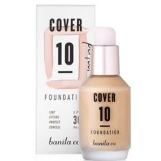 Banila Co. Cover 10 Perfect Foundation SPF 30 PA++ 30ml korean cosmetic skincare product online shop malaysia singapore indonesia
