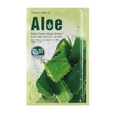 TONYMOLLY Aloe Daily Fresh Mask Sheet 15gx10sheet korean skincare product online shop malaysia singapore indonesia