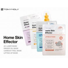 TONYMOLY Home Skin Effector Mask 25 x 5 pcs 4 type korean cosmetic skincare product online shop malaysia singapore indonesia