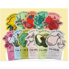 TONYMOLY I'm Real Mask Sheet 21ml x 10 pcs korean cosmetic skincare product online shop malaysia singapore indonesia