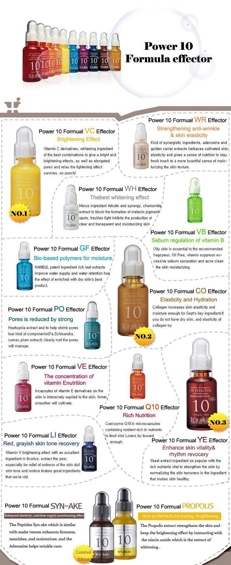It's Skin Power 10 Formula Effector EN korean cosmetic skincare shop malaysia singapore indonesia
