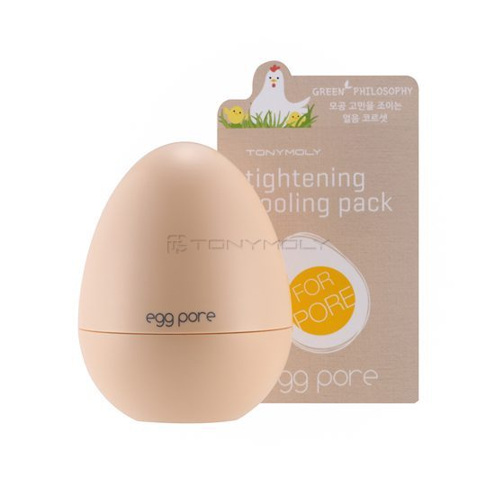 TONYMOLY Egg Pore Tightening Cooling Pack 30g korean cosmetic skincare product online shop malaysia singapore indonesia