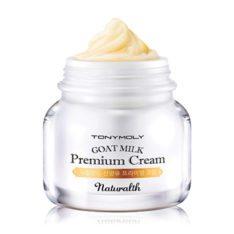 TONYMOLY Naturalth Goat Milk Premium Cream 60ml korean cosmetic skicare product online shop malaysia singapore indonesia