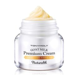 TONYMOLY Naturalth Goat Milk Premium Cream 60ml korean cosmetic skicare product online shop malaysia singapore indonesia