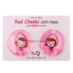 TONYMOLY Red Cheeks Girl's Patch 14g x 5 pcs korean cosmetic skincare product online shop malaysia singapore indonesia