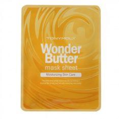 TONYMOLY Wonder Butter Mask Sheet 18ml x 10 pcs moisturizing skincare korean  cosmetic skincare product online shop malaysia singapore indonesia