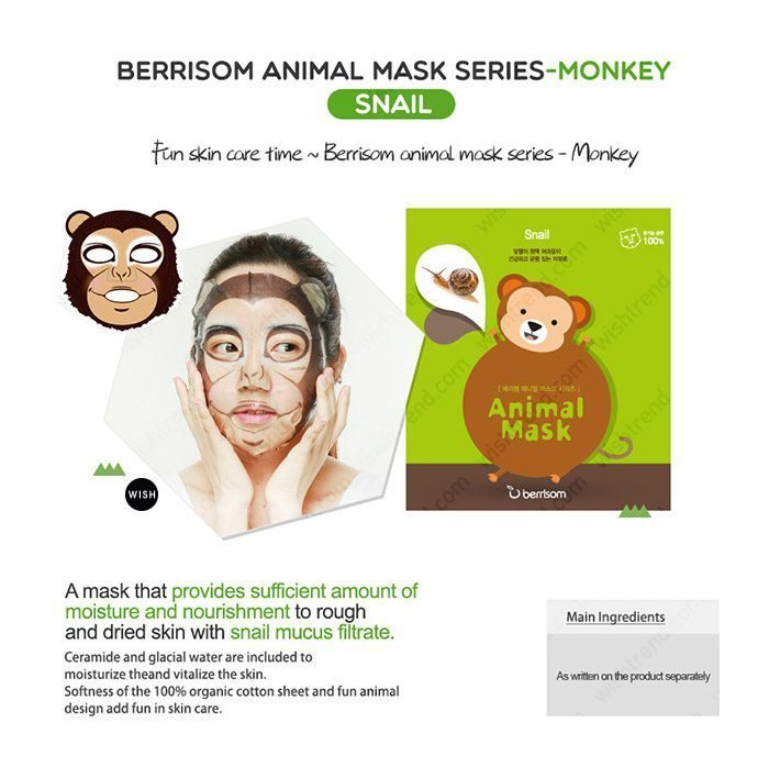 Berrisom Animal Mask malaysia singapore indonesia Monkey