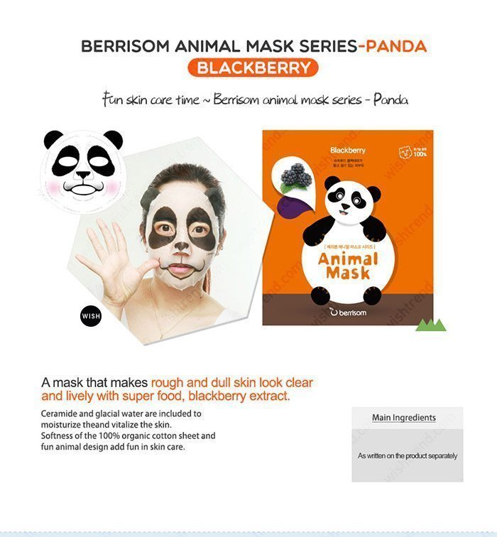 Berrisom Animal Mask malaysia singapore indonesia