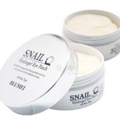 Blumei Snail Hydrogel Eye Patch 60ea 150g korean cosmetic skincare shop malaysia singapore indonesia