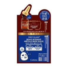 Coreana Orthia Pefect Collagen 28 Days Intensive Ampoule Aqua Mask korean cosmetic skincare shop malaysia singapore indonesia