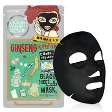 Dewytree Ginseng Nutritious Black Mask korean cosmetic skincare shop malaysia singapore indonesia