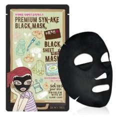 Dewytree Premium Syn-Ake Black Mask korean cosmetic skincare shop malaysia singapore indonesia