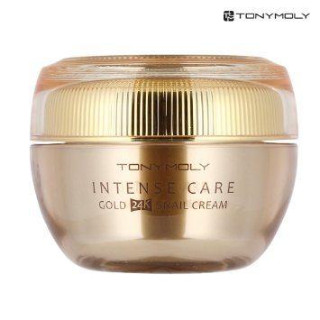 TONYMOLY Intense Care Gold 24K SnailCream 45ml korean cosmetic skincare product online shop malaysia singapore indonesia