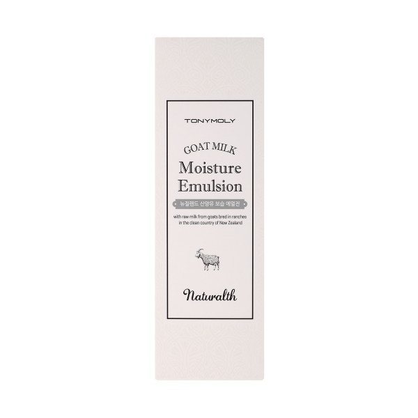 TONYMOLY Naturalth Goat Milk Moisture Emulsion 150ml korean cosmetic skincare product online shop malaysia singapore indonesia