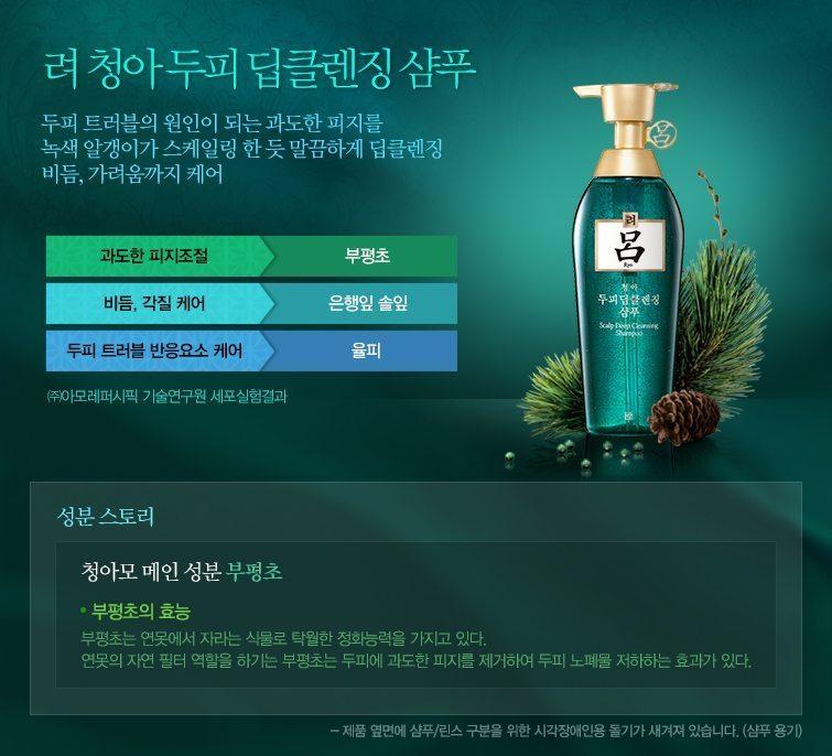 Amore Pacific RYO Scalp Deep Cleansing Shampoo malaysia singapore indonesia