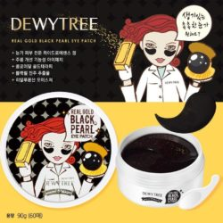 Dewytree Real Gold Black Pearl Eye Patch korean cosmetic skincare shop malaysia singapore indonesia