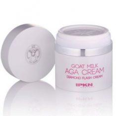 IPKN Goat Milk AGA Cream 50ml korean cosmetic skincare shop malaysia singapore indonesia