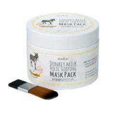 Imselene Donkey Milk Holic Sleeping Mask Pack 100ml korean cosmetic skincare shop malaysia singapore indonesia
