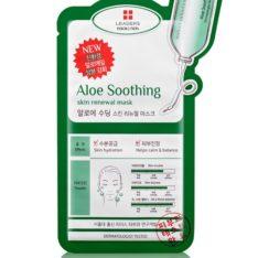 Leaders Insolution Aloe Soothing Skin Renewal Mask korean cosmetic skincare shop malaysia singapore indonesia