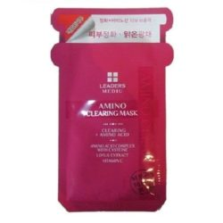 Leaders Mediu Amino Clearing Mask korean cosmetic skincare shop malaysia singapore indonesia