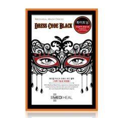 Mediheal Mask Dress Code Black korean cosmetic skincare shop malaysia singapore indonesia