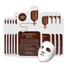 Mediheal Placenta Revital Essential Mask korean cosmetic skincare shop malaysia singapore indonesia