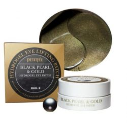 Petitfee Black Pearl & Gold Hydrogel Eye Patch korean cosmetic skincare shop malaysia singapore indonesia