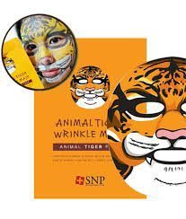 SNP Animal Tiger Wrinkle Mask korean cosmetic skincare shop malaysia singapore indonesia