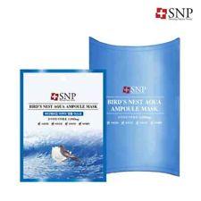 SNP Birds Nest Aqua Ampoule Mask korean cosmetic skincare shop malaysia singapore indonesia
