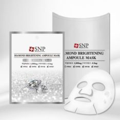 SNP Diamond Brightening Ampoule Mask korean cosmetic skincare shop malaysia singapore indonesia