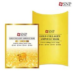 SNP Gold Collagen Ampoule Mask korean cosmetic skincare shop malaysia singapore indonesia