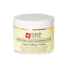 SNP Gold Collagen Sleeping Pack 100g korean cosmetic skincare shop malaysia singapore indonesia