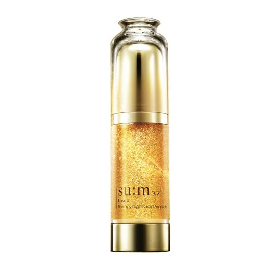 SUM37 Losec Therapy Night Gold Ampoule 40ml korean cosmetic skincare shop malaysia singapore indonesia