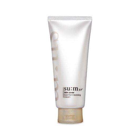 SUM37 Skin Saver Essential Cleansing Cream 200ml korean cosmetic skincare shop malaysia singapore indonesia