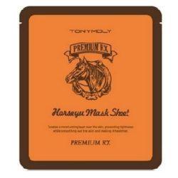 TONYMOLY Premium RX Horseyu Mask Sheet 21g x 5 pcs korean cosmetic skincare product online shop malaysia singapore indonesia