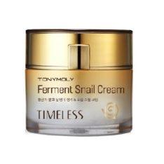 TONYMOLY Timeless Ferment Snail Cream 50ml korean cosmetic skincare product online shop malaysia singapore indonesia