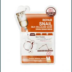 Topface Repair Snail Silk Cellulose Mask korean cosmetic skincare shop malaysia singapore indonesia