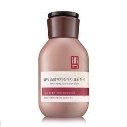 illi Total Aging Care Cream Wash 400ml korean cosmetic skincare shop malaysia singapore indonesia