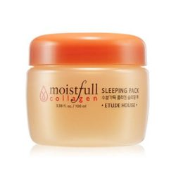 Etude House Moistfull Collagen Sleeping Pack 100ml korean cosmetic skincare shop malaysia singapore indonesia