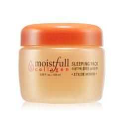 Etude House Moistfull Collagen Sleeping Pack 100ml korean cosmetic skincare shop malaysia singapore indonesia