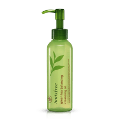 Innisfree Green Tea Balancing Cleansing Oil 150ml korean cosmetic skincare shop malaysia singapore indonesia
